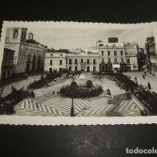 Postales: BADAJOZ PLAZA DE CERVANTES ED. ARRIBAS Nº 18. Lote 86450312