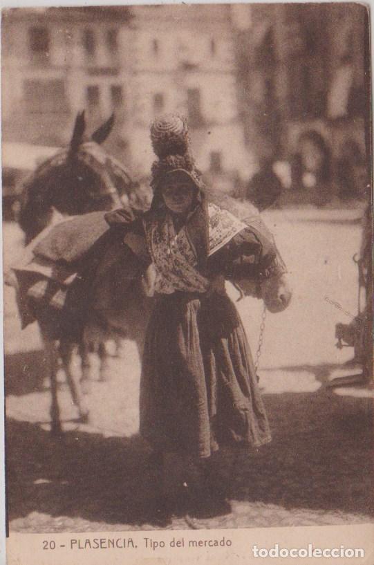 PLASENCIA (CACERES) - TIPO DEL MERCADO - EDICIÓN PEPE DIEZ - FOTÓGRAFO (Postales - España - Extremadura Antigua (hasta 1939))