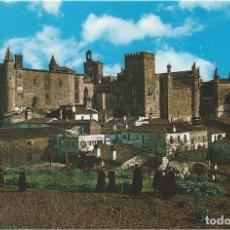 Postales: POSTAL : MONASTERIO DE GUADALUPE VISTO DESDE EL ALMIJAR. GUADALUPE. CACERES. Lote 87872996