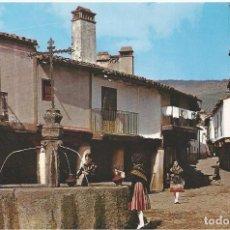Postales: POSTAL . FUENTE DE LOS TRES CHORROS. GUADALUPE. CACERES. Lote 87889388