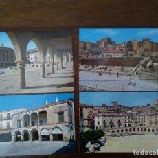 Postales: LOTE 4 POSTALES TRUJILLO. MUY BUEN ESTADO.. Lote 89012708