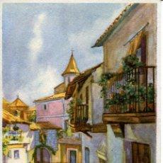 Postales: GUADALUPE-- CALLE REAL Y ARCO DE SAN PEDRO. Lote 89730316