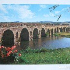 Postales: POSTAL BADAJOZ - MERIDA - PUENTE ROMANO - 1977 - ARRIBAS 88 - SIN CIRCULAR. Lote 90856655