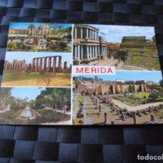 Postales: POSTAL DE MERIDA BONITAS VISTAS - LA DE LAS FOTOS VER TODAS MIS POSTALES. Lote 91708725
