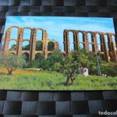 Postales: POSTAL DE MERIDA ACUEDUCTO ROMANO BONITAS VISTAS - LA DE LAS FOTOS VER TODAS MIS POSTALES. Lote 91708970