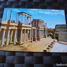 Postales: POSTAL DE MERIDA TEATRO ROMANO BONITAS VISTAS - LA DE LAS FOTOS VER TODAS MIS POSTALES. Lote 91709520