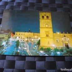 Postales: POSTAL DE BADAJOZ CATEDRAL Y AYUNTAMIENTO BONITAS VISTAS - LA DE LAS FOTOS VER TODAS MIS POSTALES. Lote 91709990