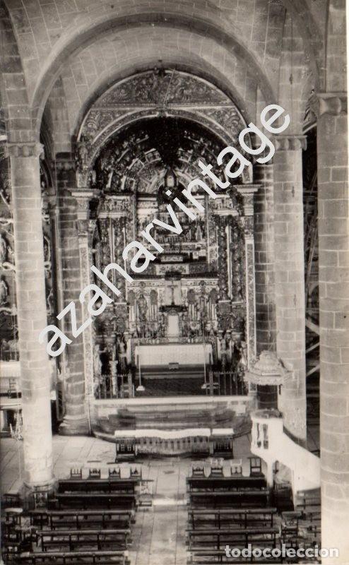 OLIVENZA, BADAJOZ, N. 17, INTERIOR DE SANTA MARIA DEL CASTILLO, ED. ALARDE (Postales - España - Extremadura Antigua (hasta 1939))