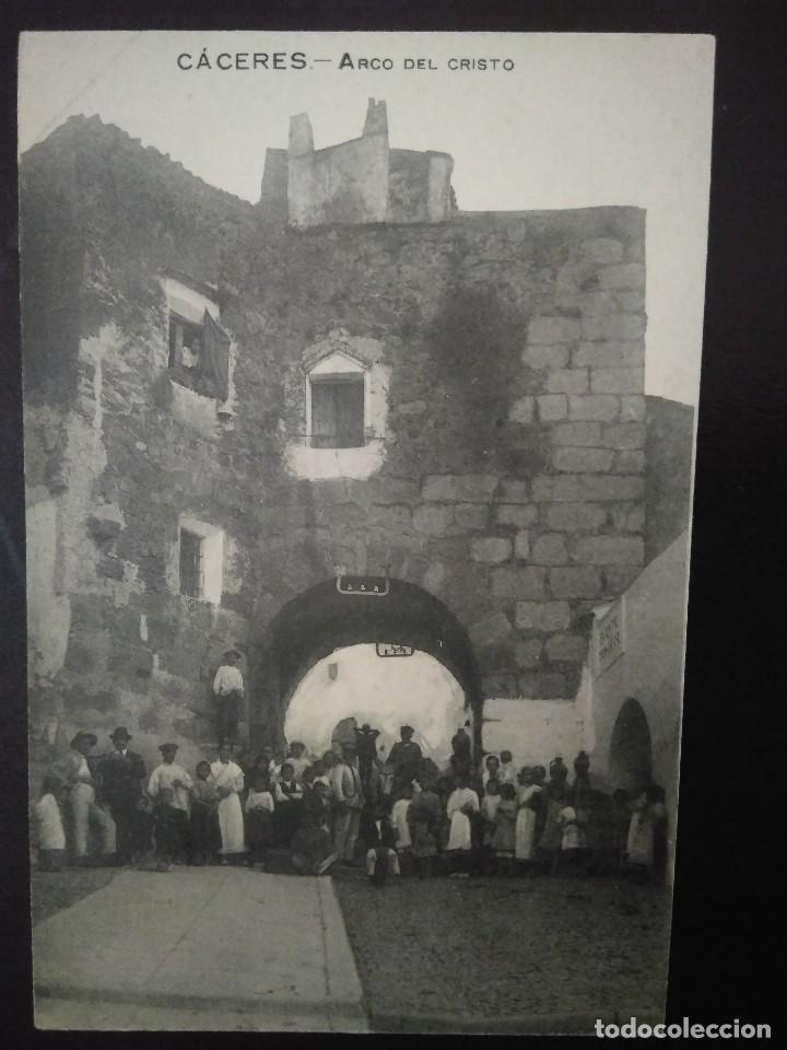 ARCO DEL CRISTO. CÁCERES. SIN CIRCULAR. (Postales - España - Extremadura Antigua (hasta 1939))