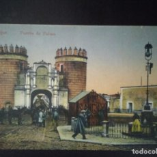 Postales: PUERTA DE PALMA. BADAJOZ. SIN CIRCULAR.. Lote 93144935