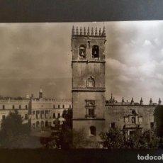 Postales: POSTAL 2. BADAJOZ - CATEDRAL Y PLAZA DE ESPAÑA. Lote 93386415
