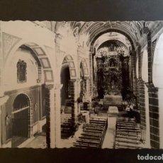 Postales: POSTAL JEREZ DE LOS CABALLEROS - 60. INTERIOR DE LA PARROQUIA SAN MIGUEL. Lote 93388815