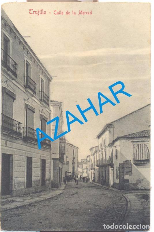 TRUJILLO, CACERES, CALLE DE LA MERCED, EDIT,DURAN (Postales - España - Extremadura Antigua (hasta 1939))