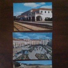 Postales: LOTE DE 3 POSTALES DE VALENCIA DE ALCÁNTARA.. Lote 95287155