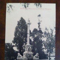 Postales: BADAJOZ. MONUMENTO AL GENERAL MENACHO. FOTOTIPIA THOMAS, BARCELONA. EDICIÓN JOAQUÍN, BADAJOZ.. Lote 95768895