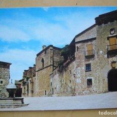 Postales: PLASENCIA (CÁCERES) - PALACIO MARQUES DE MIRABEL. Lote 95809251