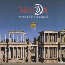 Postales: POSTAL TEATRO ROMANO DE MERIDA. BADAJOZ. Lote 95889055