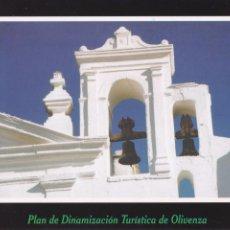 Postales: POSTAL CAMPANARIO DEL CONVENTO DE SAN FRANCISCO. OLIVENZA. BADAJOZ. Lote 95889559