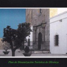 Postales: POSTAL PLAZA DE SANTA MARIA DEL CASTILLO. OLIVENZA. BADAJOZ. Lote 95889667