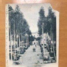 Postales: ANTIGUA POSTAL BADAJOZ PASEO DE LOS EUCALIPTOS CLARAMON Y COMPAÑÍA . Lote 96234047