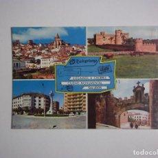 Postales: POSTAL DE CACERES. CIUDAD MONUMENTAL. EDICIONES PERGAMINO. TDKP2. Lote 97391807