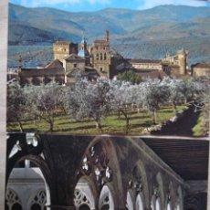 Postales: LOTE DE DOS POSTALES DEL MONASTERIO DE GUADALUPE CACERES. Lote 97456951