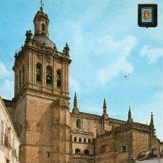 Postales: CORIA - 1 FACHADA DE LA CATEDRAL. Lote 97507823