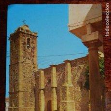 Postales: FOTO POSTAL DE LA IGLESIA PARROQUIAL DE MADRIGALEJOS, CACERES, POSTAL KAN, CIRCULADA.. Lote 97617539