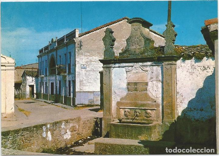 NAVALMORAL DE LA MATA .- FUENTE CAÑOS VIEJOS .- EDICIONES FITER 1967 .- SIN CIRCULAR (Postales - España - Extremadura Moderna (desde 1940))
