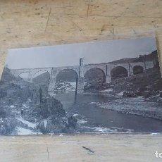 Postales: CACERES, POSTAL FOTOGRAFICA DEL PUENTE DE ALCANTARA, 14 X 9 CM.. Lote 98527607