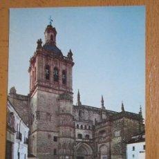 Postales: CATEDRALES DE ESPAÑA. DE CORIA, CACERES. (ED. VISTABELLA Nº42).. Lote 98693063