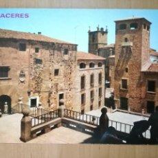 Postales: CACERES, GOLFINEA DE ABAJO, PLAZA DE SAN JORGE. ED. PARIS. Lote 98706071