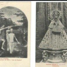 Postales: 21 POSTALES ANTIGUAS DE NTRA. SRA. DE GUADALUPE Y MONASTERIO - VER FOTOS. . Lote 99125531
