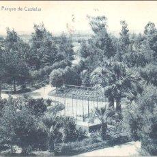 Postales: BADAJOZ PARQUE DE CASTELAR 1926. Lote 99467315