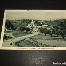 Cartoline: FREGENAL DE LA SIERRA BADAJOZ VISTA GENERAL DEL SANTUARIO. Lote 99969663