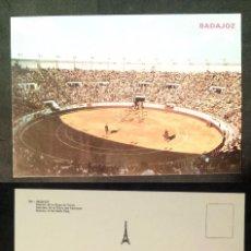 Postales: BADAJOZ - SPAIN - PLAZA DE TOROS - OLD POSTCARD. Lote 100045299