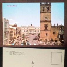 Postales: BADAJOZ - SPAIN - CATEDRAL - OLD POSTCARD. Lote 100045519