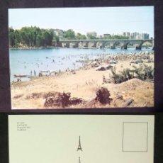 Postales: BADAJOZ - SPAIN - PLAYA DEL RIO - OLD POSTCARD. Lote 100045755