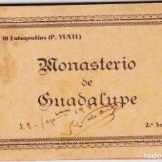 Postales: 10 FOTOGRAFIAS: MONASTERIO DE GUADALUPE - AÑOS 30 - ( P. YUSTE). Lote 101460823