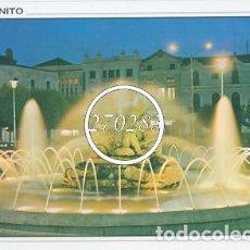 Postales: DON BENITO (BADAJOZ) Nº 10 PLAZA DE ESPAÑA FUENTE LUMINOSA - ED ARRIBAS - SIN CIRCULAR. Lote 102954839