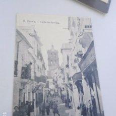 Postales: POSTAL ZAFRA CALLE DE SEVILLA BADAJOZ. ,. Lote 103016375