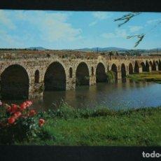 Postales: POSTAL - MERIDA, PUENTE ROMANO, EXTREMADURA - EDICIONES ARRIBAS. Lote 103201627