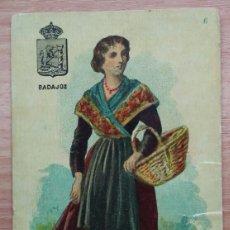 Postales: ANTIGUA TARJETA POSTAL DE BADAJOZ DE 1904. Lote 103805891