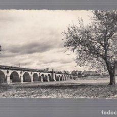 Postales: BADAJOZ.- PUENTE DE PALMAS. Lote 103850903