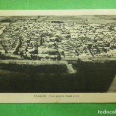Postales: POSTAL - ESPAÑA - BADAJOZ - VISTA GENERAL DESDE AVIÓN - EDICIONES M. ARRIBAS - NE - NC. Lote 104069327