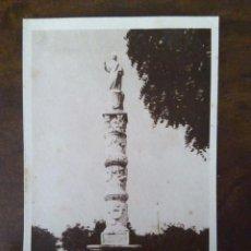 Postales: MÉRIDA. MONUMENTO A SANTA EULALIA FORMADO CON ARAS Y UN CAPITEL ROMANO. SIN EDITOR.. Lote 105219339