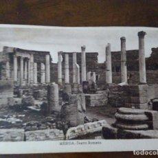 Postales: MÉRIDA. TEATRO ROMANO. ED. E. ALMIRALL. CLIXÉ ROISÍN.. Lote 105221911