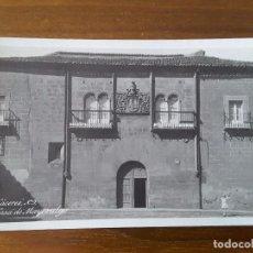 Postales: POSTAL DE CÁCERES - CASA DEL MAYORALGO. Lote 105707427
