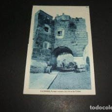 Postales: CACERES PUENTE ROMANO DEL ARCO DE CRISTO. Lote 106653291