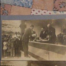 Postales: POSTALES FOTOGRAFICAS.ENTREGA PREMIO CAMPEONATO TIRO PICHON.FOTO FRANCISCO OLIVENZA.BADAJOZ 1921. Lote 106822527